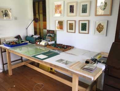 Chrissie Dell York Printmaker
