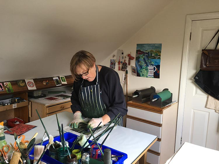 Chrissie Dell Print Maker York